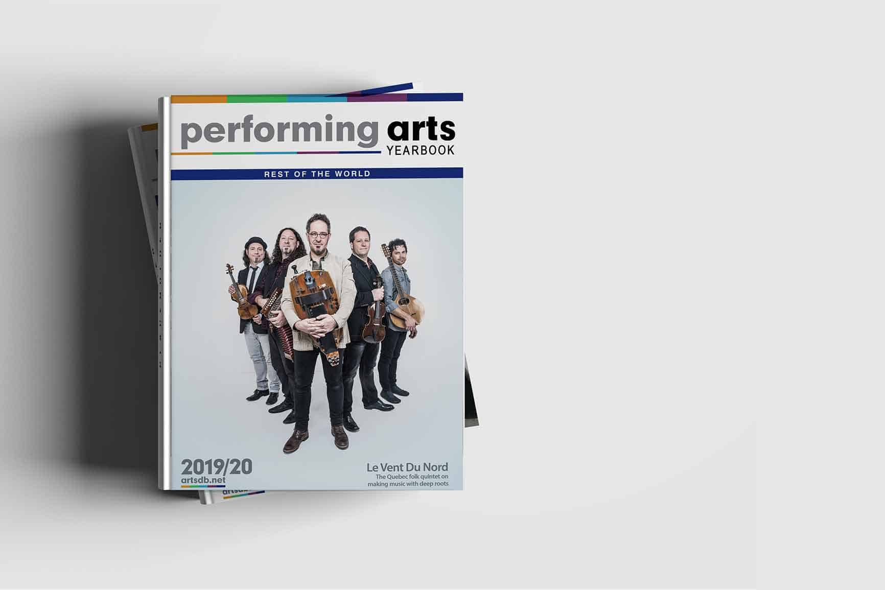 Performing Arts Yearbook Rest of The World cover